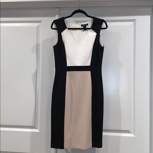 WHBM Colorblock dress